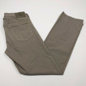 Citizens of Humanity 32x32 Gray Sid Straight Jeans